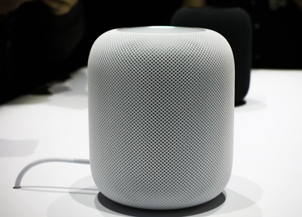 An_Apple_HomePod_speaker_