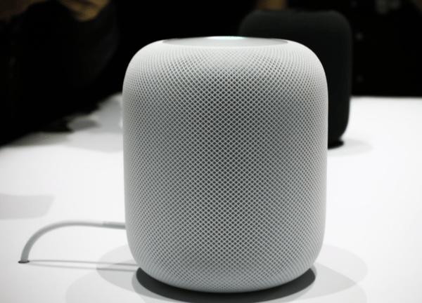 An_Apple_HomePod_speaker_