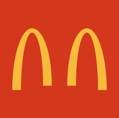 Archi separati McDonald's coronavirus