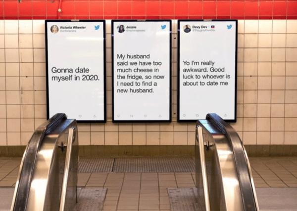Adv metro Twitter San Valentino 2020