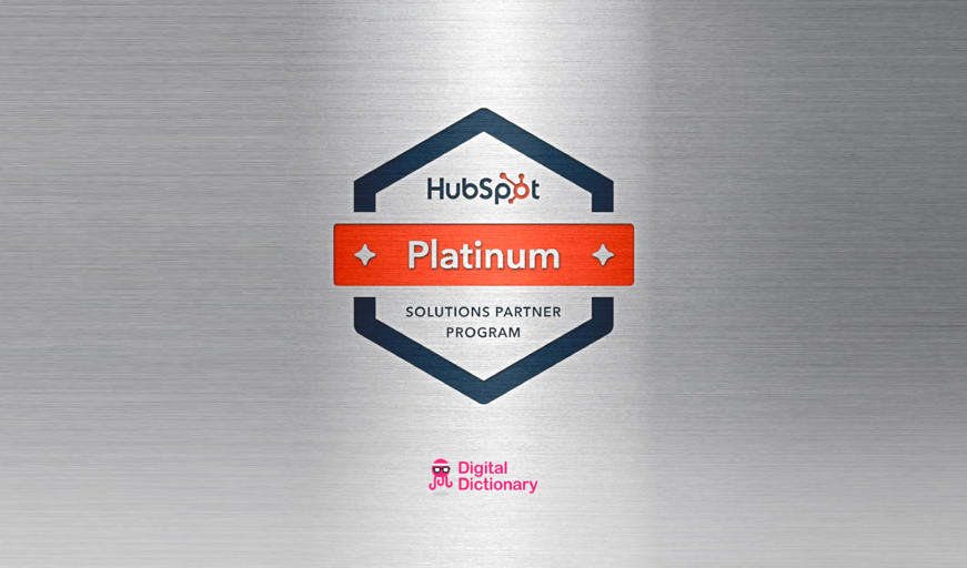 Digital Dictionary platinum partner HubSpot