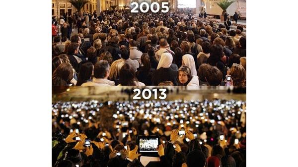 Confronto elezioni papa 2005 - 2013